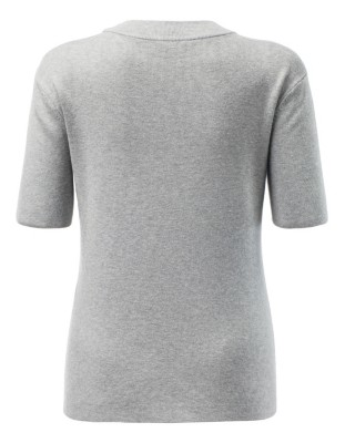 Versatile short-sleeved jumper