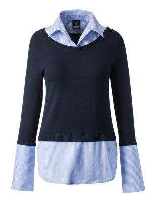 Two-in-one jumper and shirt