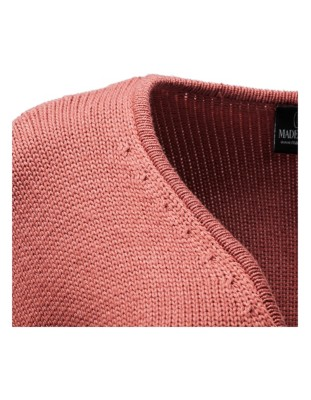 Voluminous four-ply cashmere cardigan