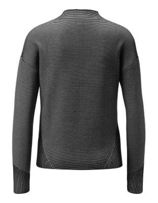 Jacquard knit boxy jumper