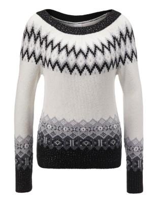 Norwegian pattern jumper