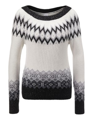 Norwegian pattern jumper