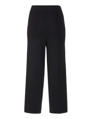 Knitted pull-on culottes