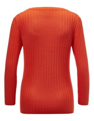 Classic ribbed jumper