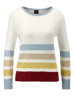 Striped jumper with delicate sparkle detailing