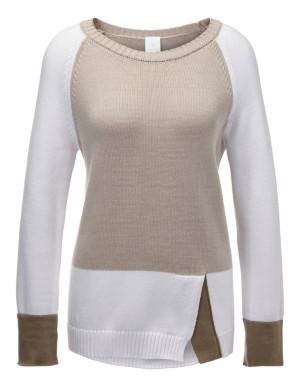 Colour block jumper