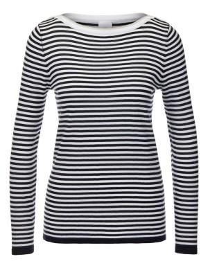 Striped cotton jumper