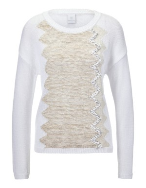Jumper with embellished front