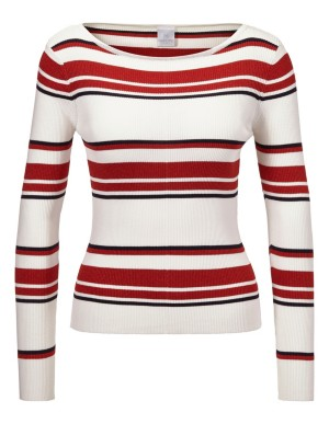 Striped, maritime-style jumper