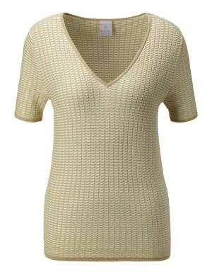 Ottoman-textured jumper