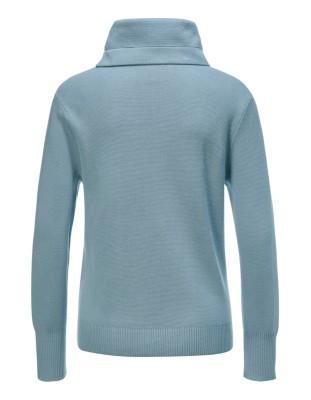 Jumper in sweatshirt look