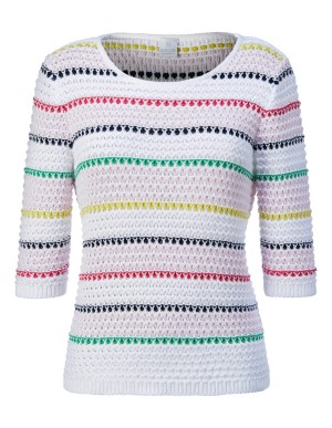 Summer jumper with elbow length sleeves