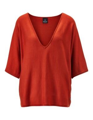 Oversized V-neck jumper