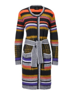 Knitted frock coat