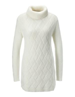 Weave pattern jumper