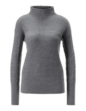 Casual textured jumper