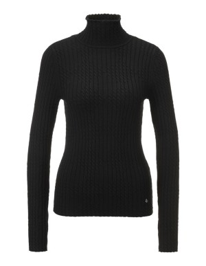 Ribbed new wool jumper