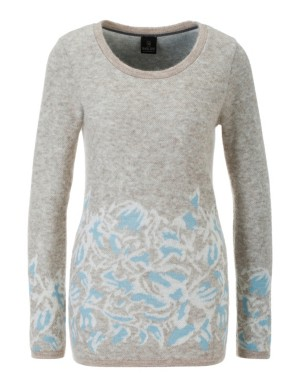 Jumper with jacquard