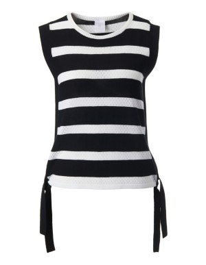 Cotton sleeveless jumper