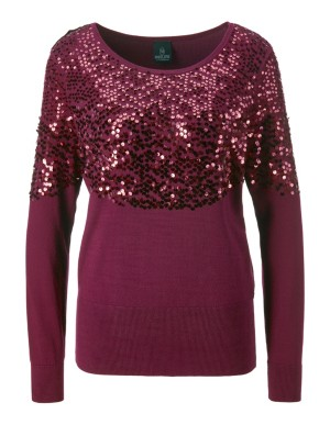 Sequin-adorned jumper