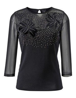 Decorated mesh top