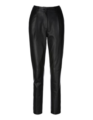 Leather trousers, nappa lamb