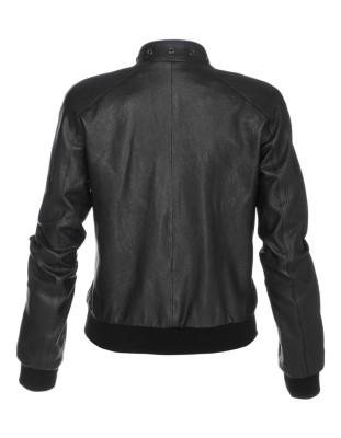 Leather jacket, nappa lamb
