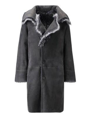 Reversible lambskin jacket