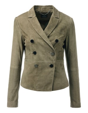 Beautifully soft kid suede jacket