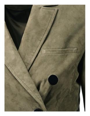 Beautifully soft kid suede jacket