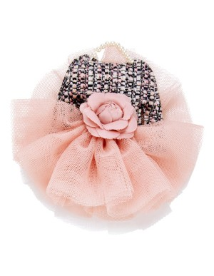 Tutu dress brooch