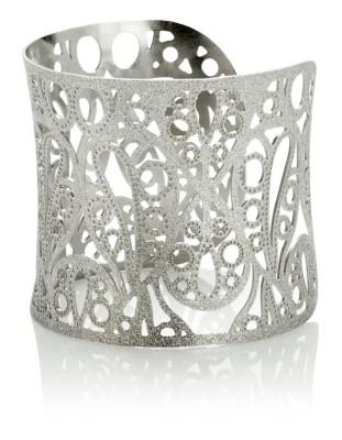 Matte metal bracelet