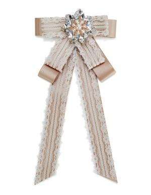 Decorative bow brooch