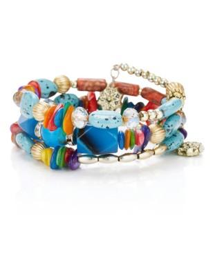 Triple-strand bracelet