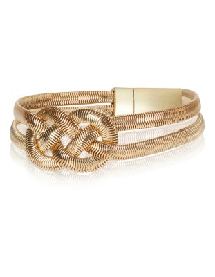 Knot effect bracelet