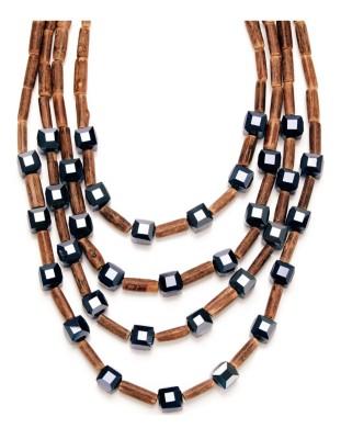 Four-strand necklace