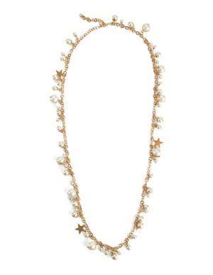 Metal link necklace
