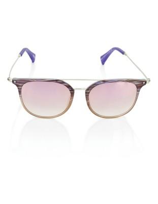 Double metal bridge sunglasses