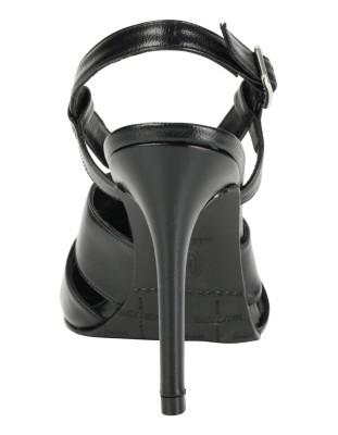Pointed slingback heels