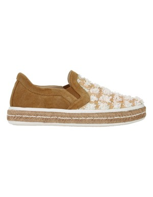 Espadrille-style loafers