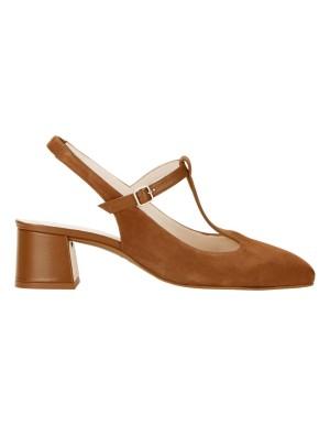 Stylish slingback heels