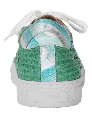 Braided trainers