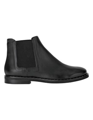 Stud-adorned Chelsea boots