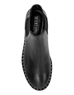 Stud-adorned Chelsea boots