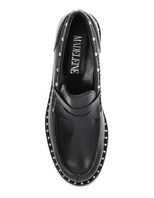 Stud-adorned classic loafers