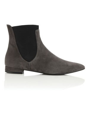 Soft suede Chelsea boots