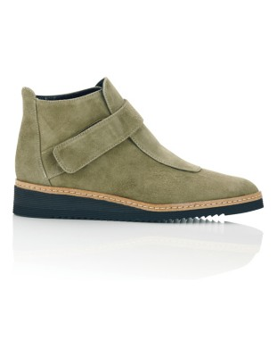 Italian suede boots