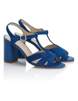 Spanish suede heels
