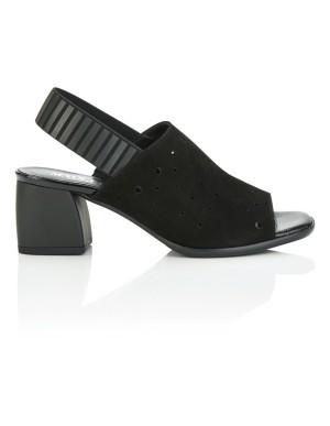 Italian suede heels