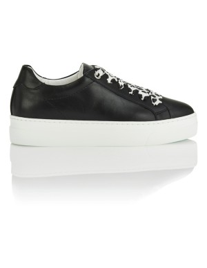Italian soft leather trainers